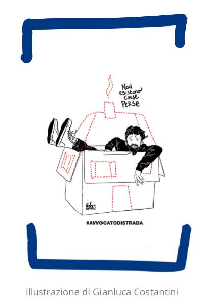 Illustrazione Costantini per Homeless More Rights